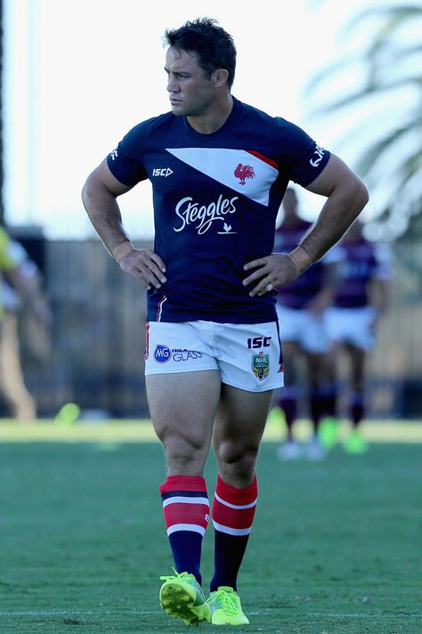 Footy Players: Cooper Cronk of the Sydney Roosters