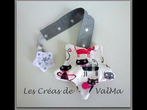 Attache sucette - tétine avec ou sans protection - Attention lire le descriptif -Tuto couture ValMa