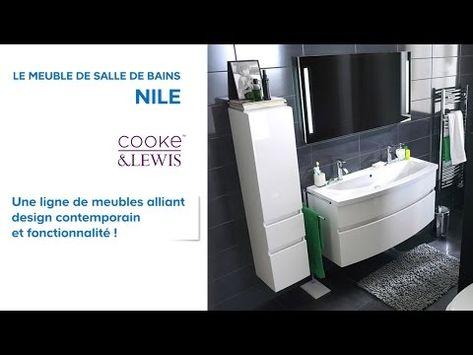 Meuble De Salle De Bains Volga Cooke Lewis 630016 Castorama Youtube Meuble Salle De Bain