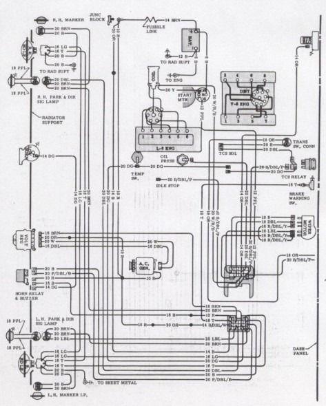 70 Camaro Wiring Diagram Camaro 70 Camaro Diagram
