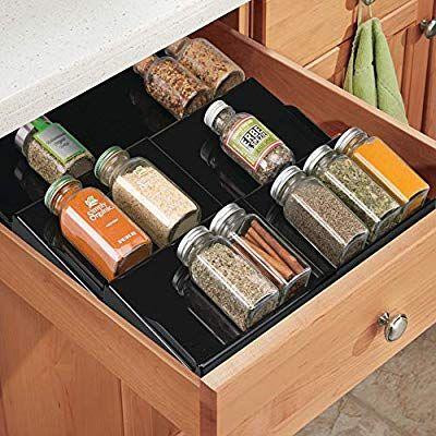 spice organization drawer spice drawer