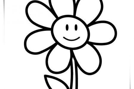 Flores Bonitas Para Colorear A4 Printable Flower Coloring Pages Sunflower Coloring Pages Kindergarten Coloring Pages