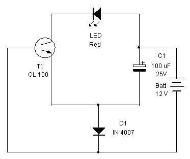 Simple Battery Monitor Circuit