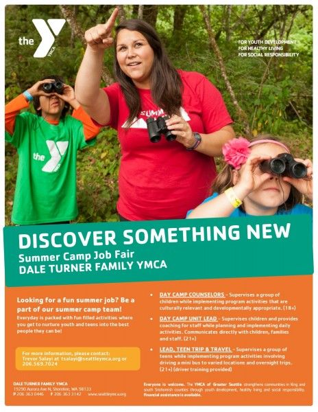 Dale Turner Family Ymca Hiring For The Summer In 2020 Ymca