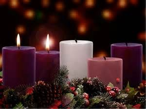 THE BETHLEHEM CANDLE or THE CANDLE OF PREPARATION