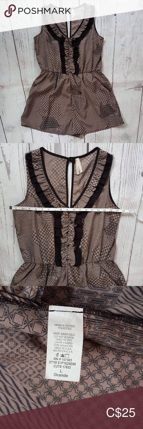 jumpsuit romper #jumpsuitromper Romper In excellent condition 9/10. Size would be bordering Medium to Large. Pants Jumpsuits & Rompers