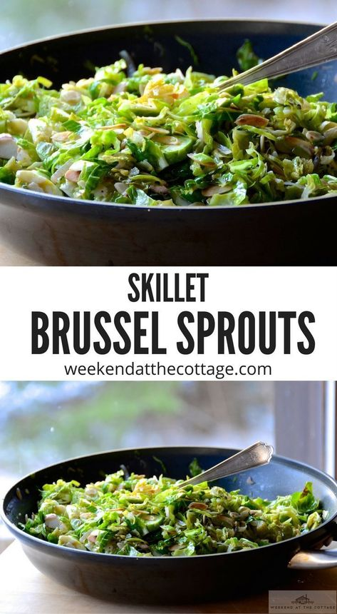 This is the BEST BRUSSELS SPROUTS recipe especially if you love gluten-free, vegetarian side dishes that are easy to prepare. #glutenfree #vegetables #easterdinnerrecipes #brusselsproutrecipe #easysidedish