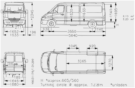 Mercedes Sprinter Campervan Layout Inspirational Mercedes Sprinter