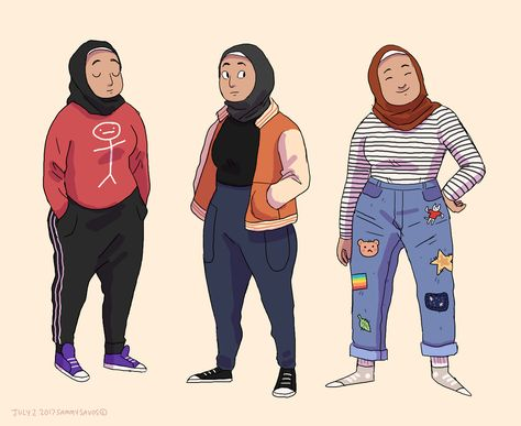 Character Design on Sammy's Portfolio Character Drawing, Character Illustration, Character Concept, Concept Art, Illustration Art, Pretty Art, Cute Art, Fashion Art, Kids Fashion