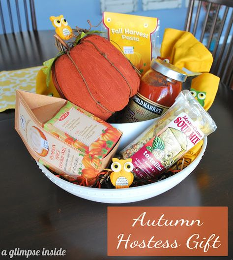 A Glimpse Inside: Autumn Inspired Hostess Gift