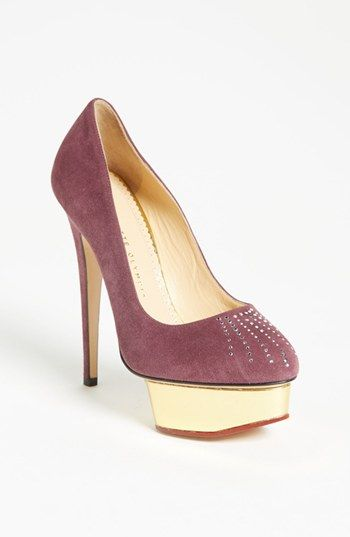 Charlotte Olympia 'Dolly - Puttin' on the Glitz' Pump available at Nordstrom