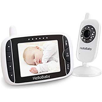 Hellobaby Wireless Video Baby Monitor Mit Digitalkamera Nachtsicht Temperaturuberwachung Amp 2 Way Talkback System Hb32 Babyphone Kamera Digital Nachtlicht