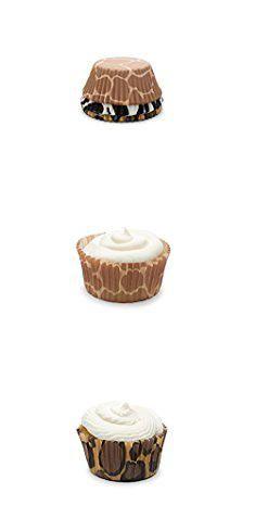 Giraffe Cupcake Liners Fox Run 6893 Animal Prints I Bake Cup Set