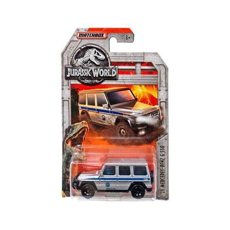 Jurassic World Matchbox 14 Mercedes Benz G550 Diecast Car