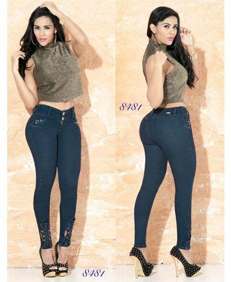 color rápido fuerte embalaje marca popular Pantalones colombianos Cheviotto√ | Jeans en 2019 ...