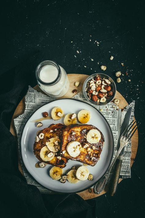 Commencer la journée de la plus gourmande des façons, pas mal non ? Un petit déjeuner gourmand avec cette brioche perdue. #breakfast #foodstylist