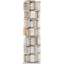 Ptolomeo Drehbares Bucherregal 4 Seitig Vertikale Anordnung Opinion Ciatti Weiss Opinion Ciatti In 2020 Regal Vertikal Und Wandhalterung