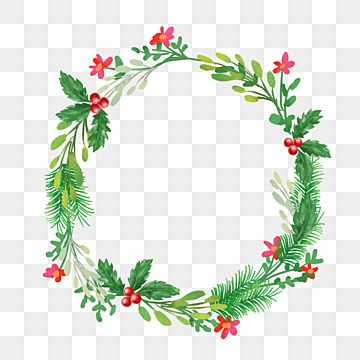 Christmas Wreath With Beautiful Red Flower Christmas Merry Christmas Wreath Png Transparent Clipart Image And Psd File For Free Download Wreath Illustration Christmas Wreath Illustration Christmas Wreaths