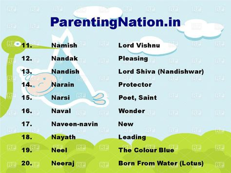 Vrushik Rashi Boy Names List Provide You With Best Select The Name For Your Lovely Baby Brought To By ParentingNationin