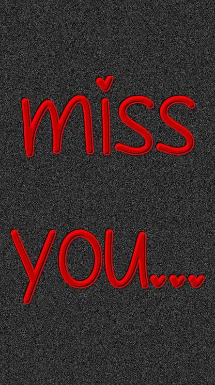 Miss you diabilang