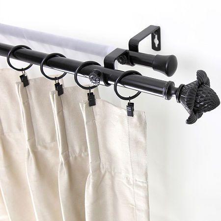 12 Adjustable Center Bracket Curtain Rod Holders Outdoor