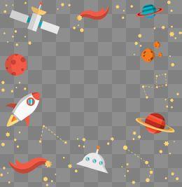 Cartoon Rocket Spacecraft Space Universe Aerospace Cosmic Planet Space Ship Star Earth Surface Decorati Solar System Clipart Rocket Cartoon Free Graphic Design