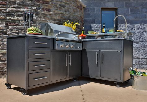Image result for outdoor modular kitchen units | Prefab ...