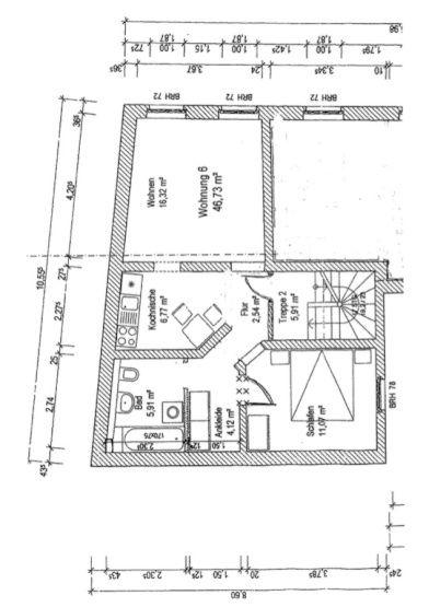 Schone Zentral Gelegene 2 Zimmer Wohnung Mit Einbaukuche