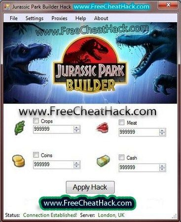 Jurassic Park Builder Hack - Unlimited Bucks, Coins, Meat
