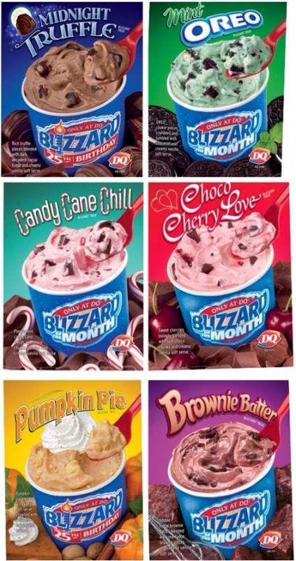26 Ideas Dairy Queen Blizzard Flavors Secret Menu Dairy Queen Blizzard Flavors Blizzard Flavors Dairy Queen Blizzard