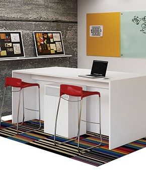 Bar Height Tables For Office Purposes | Home / New Office Furniture / NEW BAR  HEIGHT COLLABORATIVE TABLE | New Guest Room/office Area | Pinterest | Bar  ...
