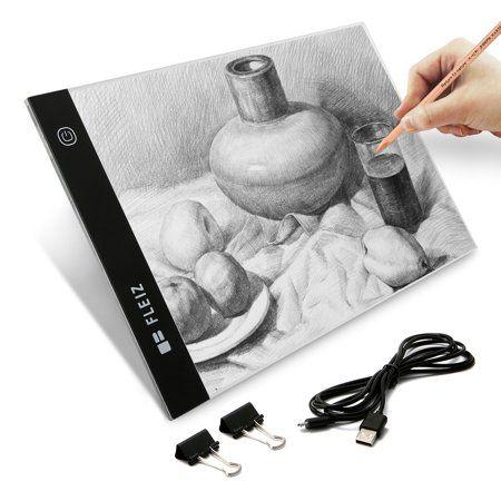 A4 Artist Led Drawing Board Usb Power Dimmable Tracing Light Box Copy Pad Table Stencil Tattoo Display Light Box Sketchin Drawing Pad Graphics Tablets Stencils