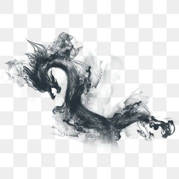 Ink L Chinese Dragon Splash Hand Painted Style Png And Clipart Chinese Painting Flowers Chinese Landscape Painting Chinese Dragon