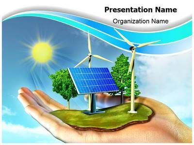 Renewable Energy Powerpoint Template Is One Of The Best Powerpoint Templates By Energia Alternativa Energia Energia Solar