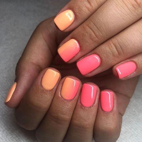 "The GelBottle Inc™ on Instagram: ""#Repost @nailsbychloej ・・・ @the_gelbottle_inc PEACH DAIQUIRI & SUNSHINE 🍑  #thegelbottleinc #thegelbottle #nailart #gelmanicure #gelnails…"""