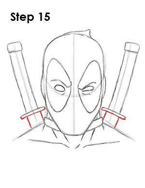 Deadpool Marvel Drawing 15 In 2019 Marvel Drawings
