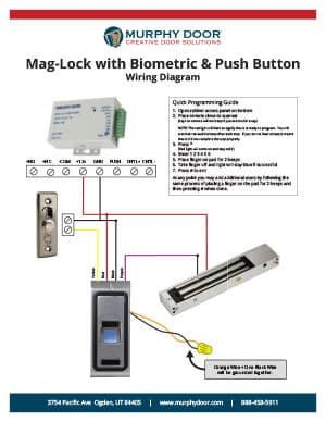 Mag Door Wiring Diagram - Wiring Diagram All Mag Ic Door Lock Wiring Diagram on