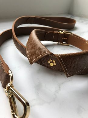Collar Pet Collar Dog Collar Handmade Leather Nothing Go Go Collars Leashes Pinkoi In 2020 Leather Dog Collars Leather Collar Luxury Dog Collars