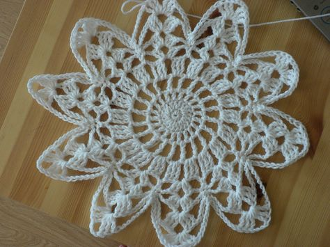 Snowflake by Crafty Kitten, via Flickr