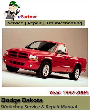 Dodge Dakota Service Repair Manual 1997 2004 Dodge Dakota Repair Manuals Dodge