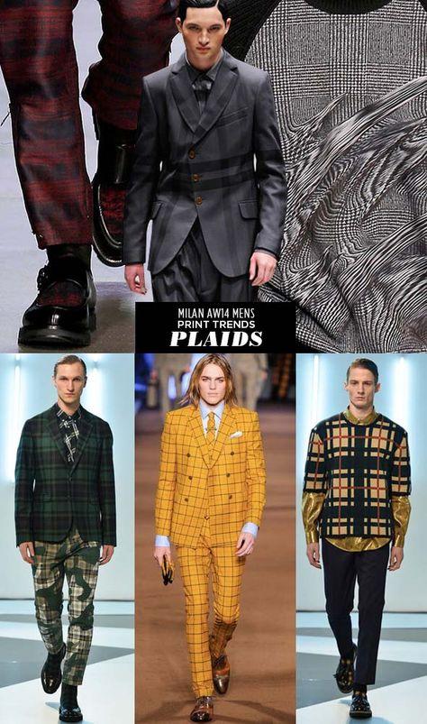 pattern people AW14 Men Print Trends Milan 2 Runway | AW14 Mens Milan Print Trends