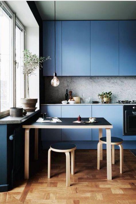 Color <3 #kitchen #blue | Kitchen | Cucine colorate, Idee per ...