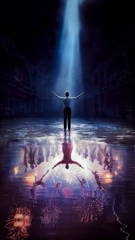 The Greatest Showman movie mobile phone wallpaper