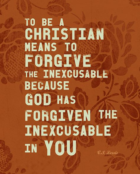 unforgiveness is inexcusable