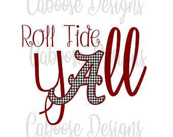 Roll Tide Digital Download Jpeg Png Etsy Roll Tide Tide Alabama Roll Tide