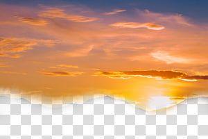 Sunset Illustration Sky Cloud Sunset Dusk Yellow Sky Transparent Background Png Clipart Transparent Background Yellow Sky Sunrise Landscape