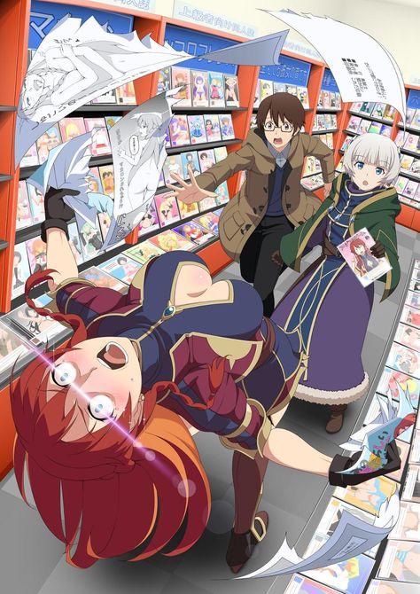 >When you found your porn   Anime / Manga