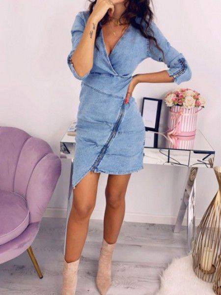 Sukienka Z Zamkiem Salem 29 Clothes Fashion Casual Dress