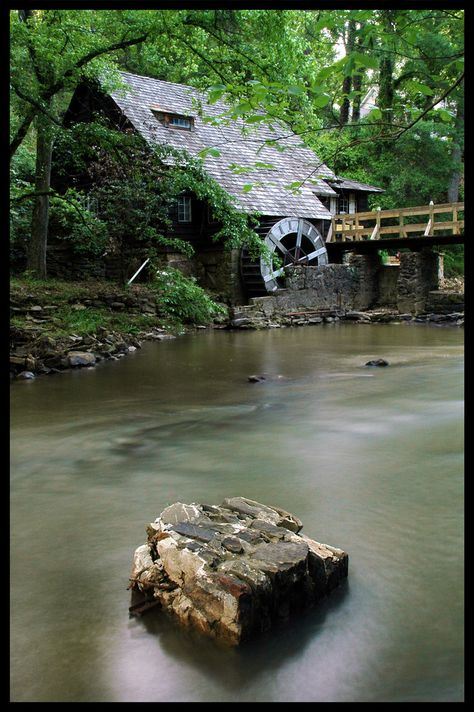 The Old Mill outside of Birmingham, Alabama