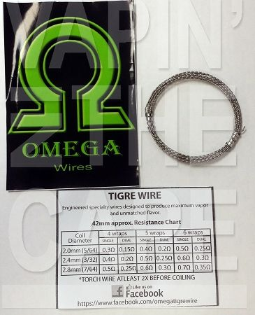 Omega tigre wire vape or die pinterest omega and vape keyboard keysfo